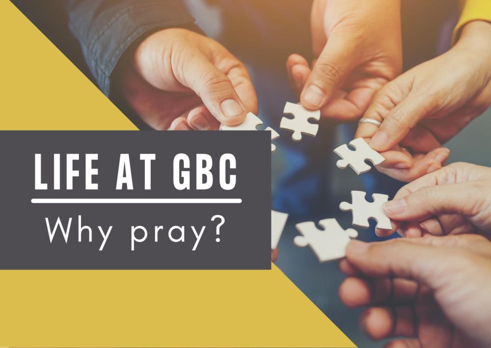 Why pray?  (Matthew 6)